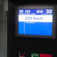 Photo taken at Bahnhof Tullnerfeld by Nurhan S. on 10/24/2013