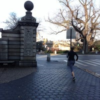 Photo taken at Central Park - Engineers' Gate by James H. on 12/3/2012
