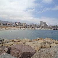 Photo taken at Playa Trocadero by Ignacio F. on 10/15/2012