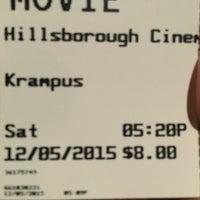 Photo taken at Hillsborough Cinemas by Patrick K. on 12/5/2015