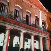 Photo taken at Teatro Comunale Piccinni by Oriella I. on 12/31/2012