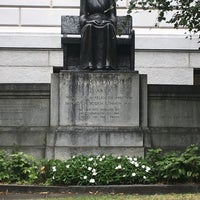 Photo taken at Mary Dyer Memorial Statue by Heath B. on 10/16/2017