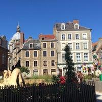 Photo taken at Cafe De La Mairie by Steffie M. on 7/19/2016