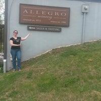 Photo taken at Allegro Vineyards by Laura W. on 5/10/2014