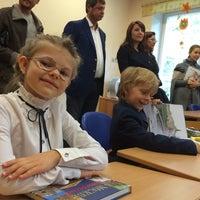 "Photo taken at Школа и детский сад ""Росинка"" by Мария Б. on 9/1/2014"