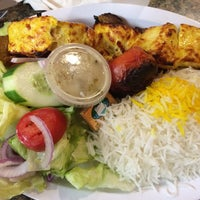 Photo taken at Zaytoon Kabob Bistro by Crystal L. on 6/21/2014