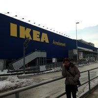 Photo taken at IKEA by Alessandra D. on 2/13/2013
