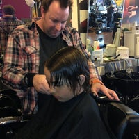 Photo taken at Floyd's 99 Barber Shop by Christine T. on 4/21/2013