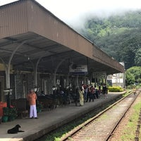 Photo taken at Haputale Railway Station by Marie K. on 9/12/2017