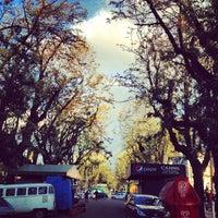 Photo taken at Avenida Bento Gonçalves by Tanira B. on 9/25/2012