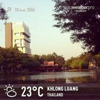 Photo taken at Bangkok University by Piyapong N. on 1/18/2013