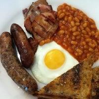 Photo taken at Newlyns Farm Shop by Graeme F. on 11/17/2012