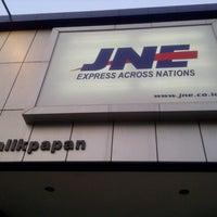 Photo taken at JNE Express by Nadya Ayu S. on 9/24/2012