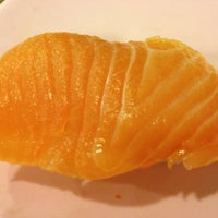 Photo taken at Sakae Sushi by Eirene Adrasteia X. on 1/3/2013