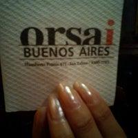 Foto tomada en Orsai Bar por Edu D. el 12/20/2012