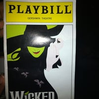 Photo prise au Gershwin Theatre par Meka O. le9/30/2012