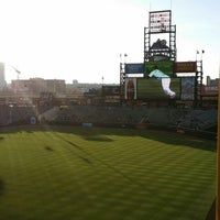 Photo taken at Mountain Ranch Club at Coors Field by Brian K. on 4/8/2014