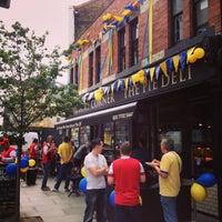 Photo taken at Piebury Corner by Chris S. on 5/17/2014