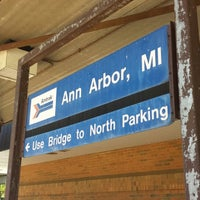 Photo taken at Amtrak - Ann Arbor Station (ARB) by Aaron C. on 6/4/2013