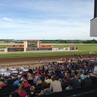 Photo taken at Canterbury Park by Roscoe on 6/16/2013