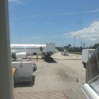Photo taken at Cayman Airways Flight 832 by Maurys M. on 4/13/2014