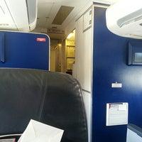 Photo taken at Cayman Airways Flight 832 by Maurys M. on 11/26/2013
