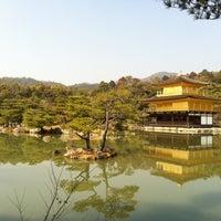 Photo taken at Kinkaku-ji Temple by Kumiko E. on 3/6/2013