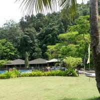 Photo taken at Fishing Bay Resort, Mersing by Fazreen M. on 10/11/2012