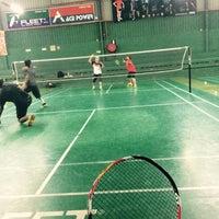 Photo taken at 99 Badminton Court by Syamsuzzaman n. on 9/22/2016