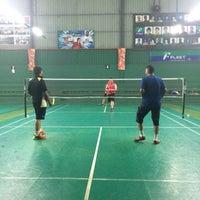 Photo taken at 99 Badminton Court by Syamsuzzaman n. on 9/1/2016
