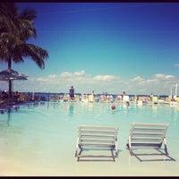 Photo taken at Pool at The Standard Spa, Miami Beach by @steveGOgreen on 10/20/2012