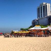 Photo taken at Oak Street Beach Food + Drink by @steveGOgreen on 7/14/2013