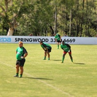 Photo taken at Sunnybank Rugby Union Club by James N. on 5/14/2014