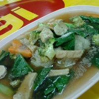 Photo taken at ร้านสุขภาพ อาหารเจ by Kim S. on 10/7/2012