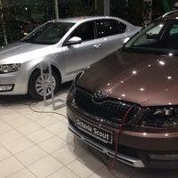 Photo taken at Европа Авто by Илья Ч. on 12/14/2014