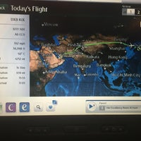 Photo taken at Emirates Flight EK316 (DXB-KIX) by Austin on 5/31/2016