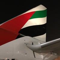 Photo taken at Emirates Flight EK316 (DXB-KIX) by Austin on 5/21/2017