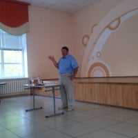 Photo taken at Школа №16 by Юрий С. on 7/26/2016