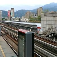 Photo taken at 捷運忠義站 MRT Zhongyi Station by young chan c. on 12/29/2016