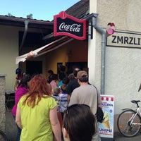 Photo taken at Zmrzlinový stánek by Jan K. on 5/8/2013