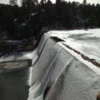 Photo taken at Evergreen Dam by Chad G. on 2/3/2013