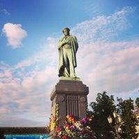 Снимок сделан в Пушкинская площадь пользователем Ivan A. B. 6/6/2013