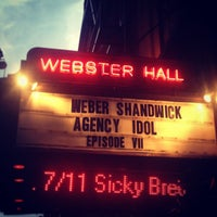 Photo taken at Webster Hall by Meghan Kathleen on 7/10/2013