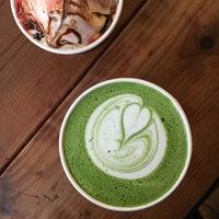 Photo taken at Augie's Coffee Roasters by @carolineadobo on 2/7/2017