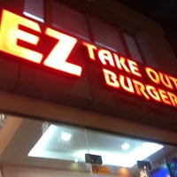Photo taken at EZ Takeout Burger by Ahmed Z. on 11/22/2012