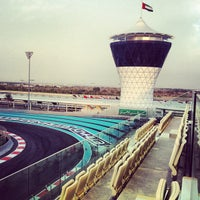 Photo taken at Yas Marina Circuit by Ahmed Z. on 10/31/2012