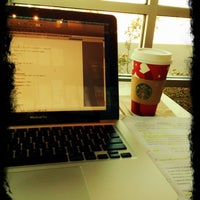 Photo taken at Starbucks by Alaa A. on 12/3/2012