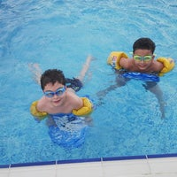 Photo taken at Dorrabay Swimming Pool by Ramy E. on 7/13/2013