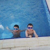 Photo taken at Dorrabay Swimming Pool by Ramy E. on 7/5/2013