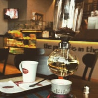 12/18/2014 tarihinde Ezgi🦁ziyaretçi tarafından Arabica Coffee House'de çekilen fotoğraf